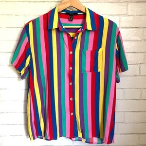 Forever 21 Rainbow Colored Blouse!